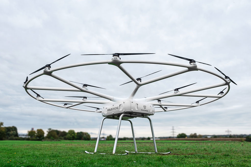 Urban Air Mobility pioneer presents utility drone